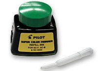 144-Pack-Pilot-Pen-43800-1oz-Refill-Ink-for-Permanent-Markers-Green-SCRF-GRN-0