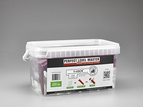 1 8 T Lock Complete Kit Anti Lippage Tile Leveling System