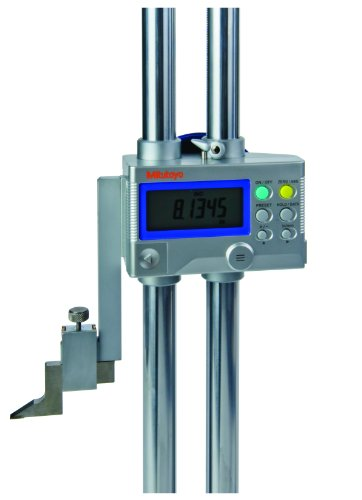 Mitutoyo 192-633-10 LCD Digimatic Height Gauge, 0-40″ Range, 0.0005″ Resolution, +/-003″ Accuracy, 15.7kg Mass