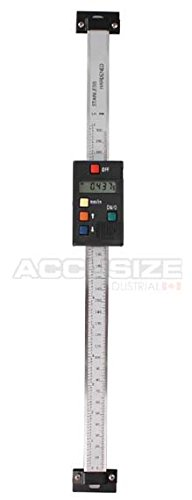 AccusizeTools – 12″ Y Axis Vert Digital DRO Quill Kit Readout, #ABVE-0012