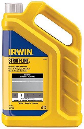 4-Pack-Irwin-65104-Strait-Line-5lb-Standard-Marking-Chalk-White-0