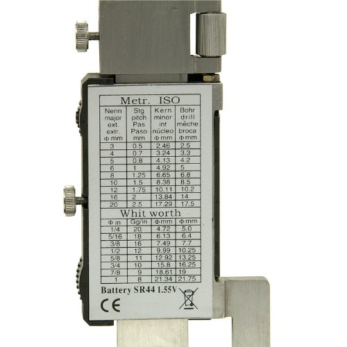 0-150mm (6″) Digital Height Gauge with carbide scribe