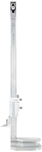 Mitutoyo 192-614-10 LCD Digimatic Height Gauge, 0-600mm Range, 0.01mm-0.005mm Resolution, +/-0.05mm Accuracy, 8.3kg Mass