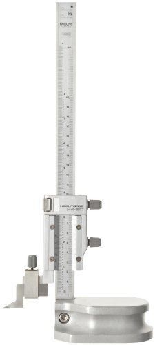 Mitutoyo 506-208 Vernier Height Gauge, 0-8″ Range, 0.001″ Resolution, +/-0.001″ Accuracy, 1.4kg Mass