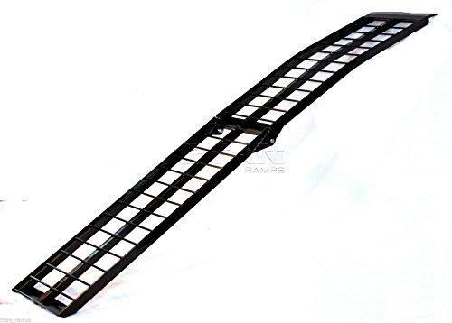 9-Black-Aluminum-Single-Folding-Arched-Motorcycle-loading-ramp-0-0