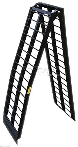 9-Black-Aluminum-Single-Folding-Arched-Motorcycle-loading-ramp-0