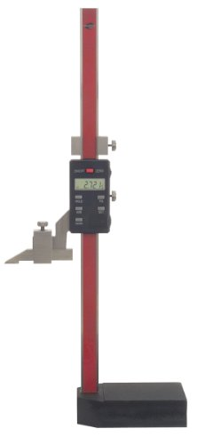Standard Gage 07734003 LCD Electronic Height Gauge, 12″ Measuring Range, 0.0005″ Resolution, +/-0.0015″ Accuracy