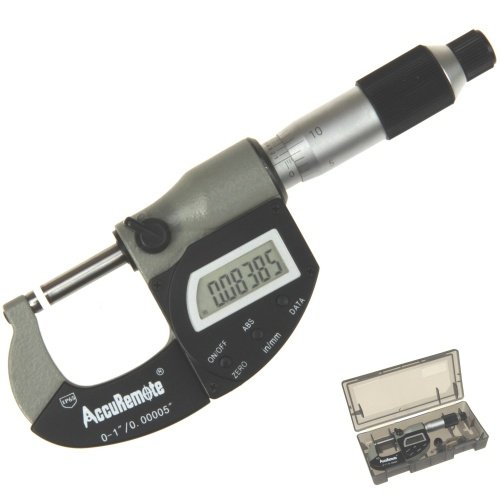 AccuRemote-0-1-Digital-Outside-Micrometer-Electronic-LCD-Display-and-Vernier-w-IP65-DustWater-Protection-0