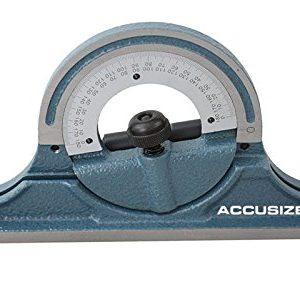 AccusizeTools-24-4-Combination-Square-Ruler-Set-Protractor-Satin-4R-Graduation-0000-8102-0-1
