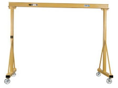 Adjustable-Height-Steel-Gantry-Vhgc-4K8-Height-RangeFt-8-12-Ft-Capacity-In-Pounds-4000-Overall-Span-Ft-9-Ft-7-In-Usable-Span-Ft-8-Beam-Hgt-Flange-Width-6333-0