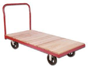 Akro-Mils-Non-Plastic-Steel-Bound-Wood-Deck-Platform-Truck-With-5-In-Polyolefin-Casters-1800-Pound-Cap-S-Pt3060-A-Size-W-X-D-30-X-60-Wt-Lbs-115-Price-Ea-1-10-Rpt30602A5-P5-0
