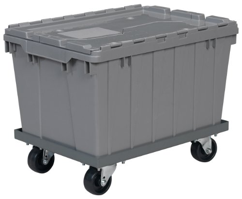 Akro-Mils-RU843HR1420-Powder-Coated-Steel-Panel-Dolly-for-39085-39120-39170-or-66486-Attached-Lid-Containers-Grey-0-0