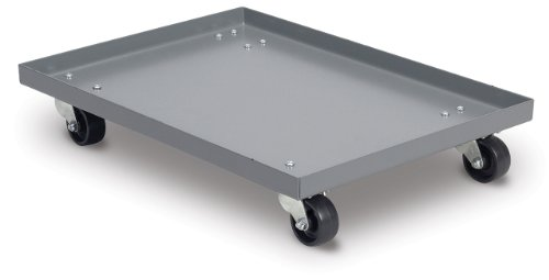 Akro-Mils-RU843HR1420-Powder-Coated-Steel-Panel-Dolly-for-39085-39120-39170-or-66486-Attached-Lid-Containers-Grey-0