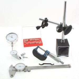 Anytime-Tools-Machinist-6-pc-Inspection-Tool-Set-Dial-Caliper-Micrometer-Magnetic-Base-Test-Indicator-Dial-Indicator-0-0