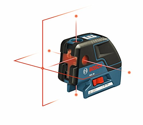 Bosch-GCL-25-Self-Leveling-5-Point-Alignment-Laser-with-Cross-Line-and-L-BOXX-Storage-Case-0-0
