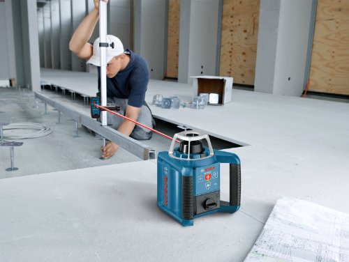 Bosch-GRL300HVCK-Self-Leveling-Rotary-Laser-with-Layout-Beam-Complete-Kit-with-Receiver-Remote-Tri-pod-and-Wall-Mount-0-0