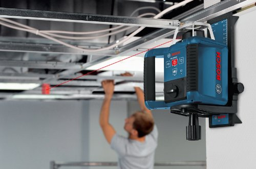 Bosch-GRL300HVCK-Self-Leveling-Rotary-Laser-with-Layout-Beam-Complete-Kit-with-Receiver-Remote-Tri-pod-and-Wall-Mount-0-1