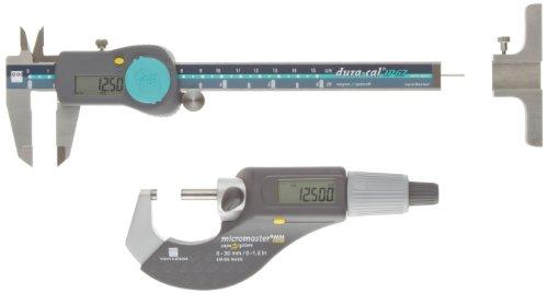 Brown-Sharpe-00591003-3-Piece-Digital-Electronic-Precision-Tool-Set-with-Dura-Cal-IP67-Caliper-0