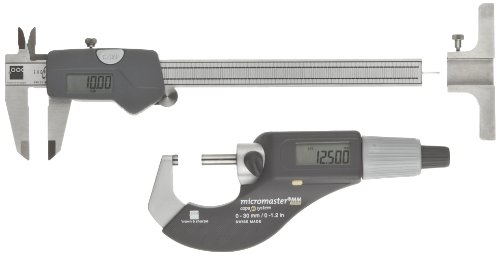Brown-Sharpe-00591007-3-Piece-Digital-Electronic-Precision-Tool-Set-with-Shop-Cal-Caliper-0