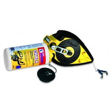 CH-Hanson-12705-100-Ft-Chalk-Line-Reel-With-6X-Fast-Retrieve-And-Built-In-Carpenters-Pencil-Sharpener-Pack-Of-6-0