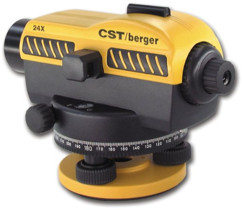 CSTberger-55-SLVP24ND-24X-Automatic-Optical-Level-Kit-with-Tripod-Rod-and-Carrying-Case-0-0