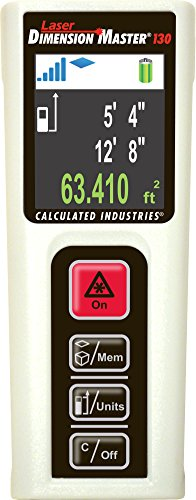 Calculated-Industries-3356-Laser-Dimension-Master-130-Compact-Digital-Distance-Measurer-with-130-foot-Range-and-Bright-Color-Display-for-Real-Estate-and-Interior-Design-Pros-0