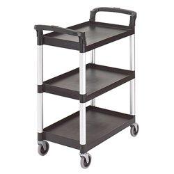 Cambro-KD-Service-Cart-Black-0