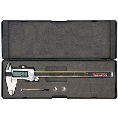Carrera-Precision-CP9812-TF-Titanium-0-Inch-to-12-Inch-Electronic-Fractional-Decimal-Digital-Caliper-0-1