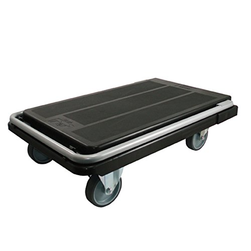 Deflecto-Heavy-Duty-Platform-Cart-with-5-Casters-500-lbs-Capacity-32-14-Length-x-21-Width-x-3-18-Height-Black-CRT5500-04-0-0
