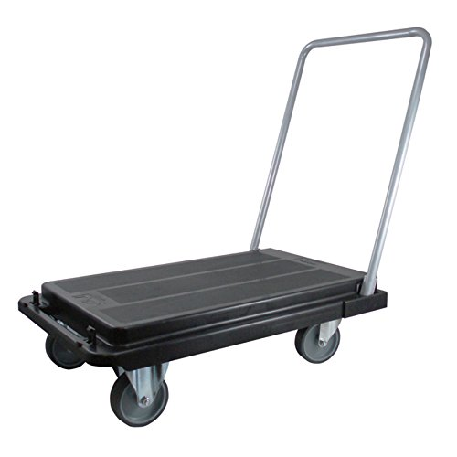 Deflecto-Heavy-Duty-Platform-Cart-with-5-Casters-500-lbs-Capacity-32-14-Length-x-21-Width-x-3-18-Height-Black-CRT5500-04-0