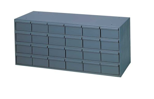 Durham-007-95-Gray-Cold-Rolled-Steel-Storage-Cabinet-33-34-Width-x-14-38-Height-x-11-58-Depth-24-Drawer-0