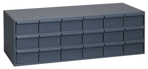 Durham-030-95-Gray-Cold-Rolled-Steel-Storage-Cabinet-33-34-Width-x-12-78-Height-x-11-34-Depth-18-Drawer-0