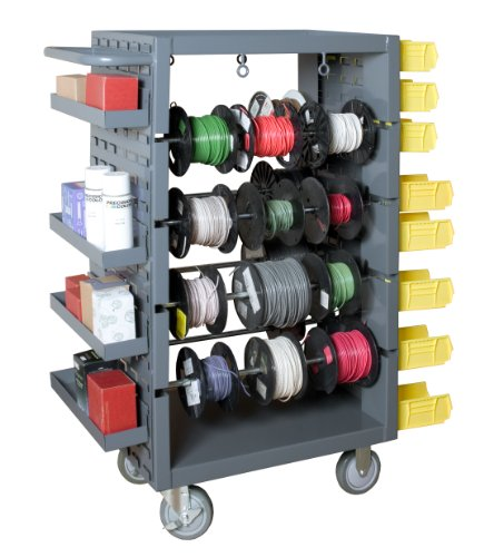 Durham-14-Gauge-Steel-Rod-Mobile-Wire-Spool-Rack-with-1-12-Lip-On-Gray-1200-lbs-Load-Capacity-46-Height-26-Width-0-0