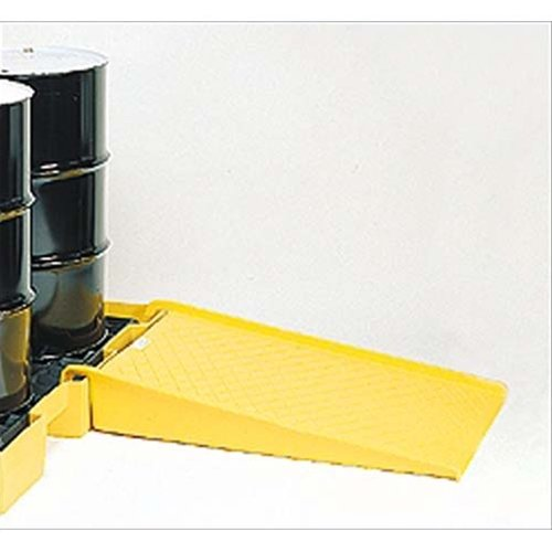 Eagle-1689-Polyethylene-Low-Profile-Pallet-Ramp-Yellow-1500-lbs-Load-Capacity-455-Length-32-Width-8-Height-0