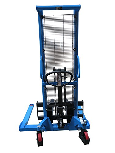 Eoslift-Straddle-Legs-Hand-Manual-Stacker-2200LBS-Capacity-63-Lift-Height-0-0