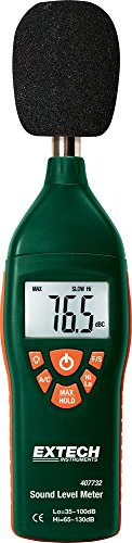 Extech-Type-2-35-Decibel-to-130-Decibel-Digital-Sound-Level-Meter-0