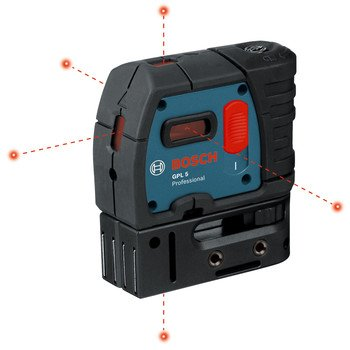 Factory-Reconditioned-Bosch-GPL5-RT-5-Point-Self-Leveling-Alignment-Laser-0-0