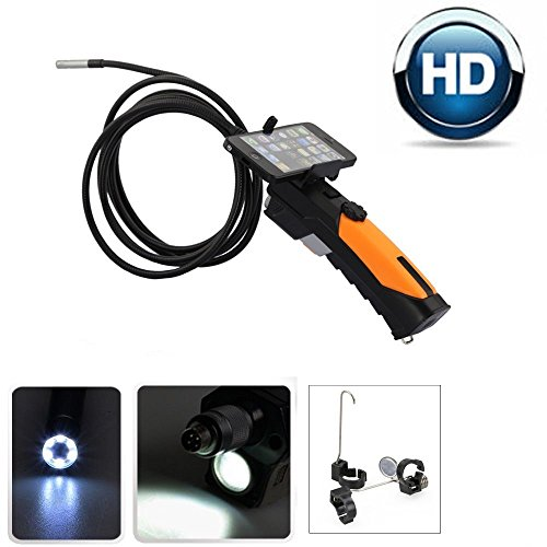 Flylinktech-HD-Digital-Endoscope-Borescope-with-Waterproof-CMOS-Snake-Camera-Tube-Camera-with-6-Adjustable-LEDs-and-Flashlight-for-IphoneIpadAndroid-PhoneLaptop3M-Cable-85mm-2-Megapixels-0