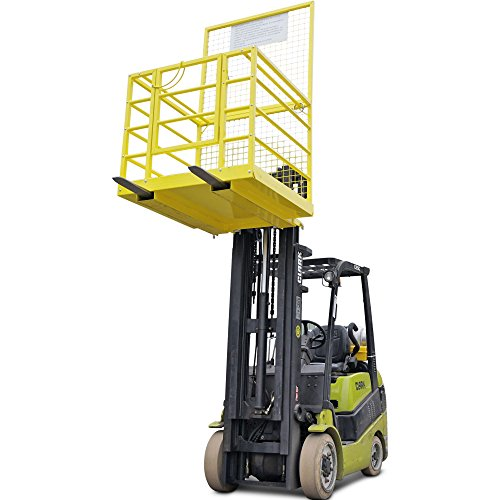 Forklift-Safety-Cage-Work-Platform-Lift-Basket-Aerial-Fence-Rails-45×43-2-man-0-1