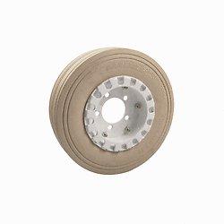 Forklift-Supply-Aftermarket-Skyjack-Aerial-Lift-Non-Marking-Split-Rim-Rear-Tire-wBrake-Ring-400×8-PN-108877-0