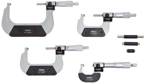 Fowler-52-224-104-Inch-Outside-Digit-Micrometer-Set-0-4-Measuring-Range-00001-Graduation-Set-of-4-0