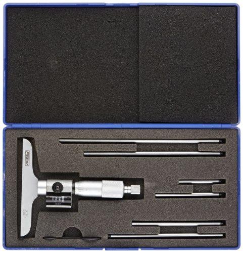 Fowler-52-225-224-1-Premium-Digit-Counter-Depth-Micrometer-0-6-Measuring-Range-0001-Graduation-0-0