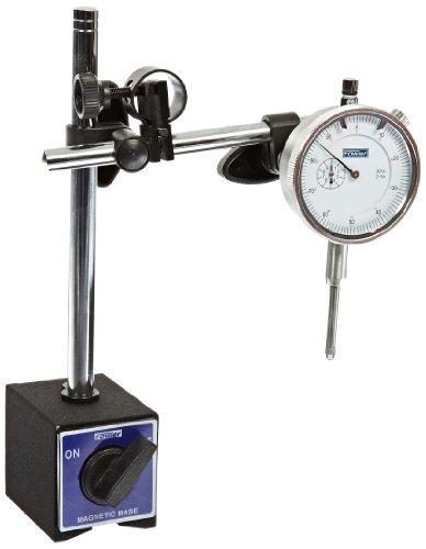 Fowler-52-229-780-Indicator-Mag-Base-Dial-Caliper-Micrometer-Combo-Set-0-0