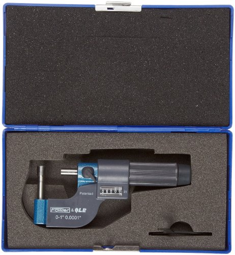 Fowler-52-611-011-EZ-Read-Digit-Tube-Micrometer-0-1-Measuring-Range-00001-Graduation-Interval-00003-Accuracy-0-0