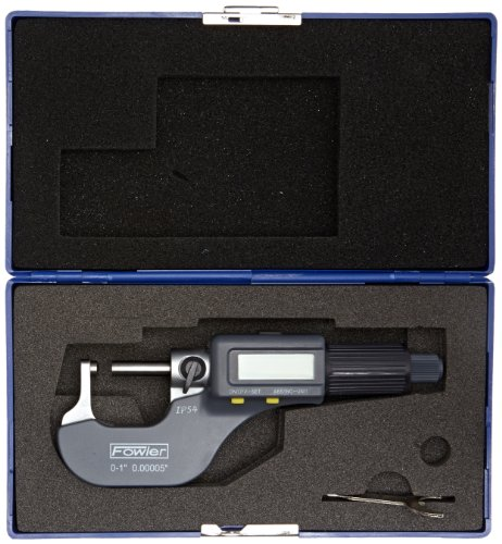 Fowler-54-860-113-Electronic-IP54-Ball-Anvil-Micrometers-0-10-25mm-Measuring-Range-0000050001mm-Resolution-RS-232-Output-0-0