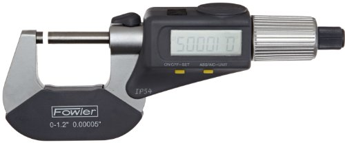 Fowler-54-866-001-Quadramic-Electronic-4-way-Reading-Micrometer-0-10-25mm-Measuring-Range-0000050001mm-Resolution-RS-232-Output-0-0