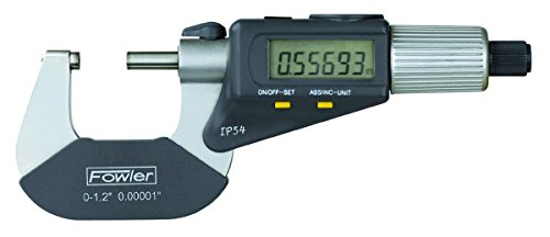 Fowler-54-866-001-Quadramic-Electronic-4-way-Reading-Micrometer-0-10-25mm-Measuring-Range-0000050001mm-Resolution-RS-232-Output-0
