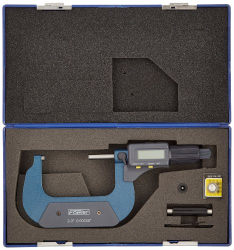 Fowler-Electronic-Outside-Micrometer-0000050001mm-Resolution-RS-232-Output-0-1
