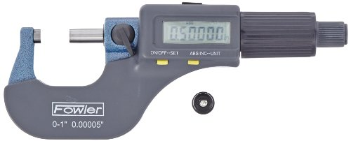 Fowler-Electronic-Outside-Micrometer-0000050001mm-Resolution-RS-232-Output-0