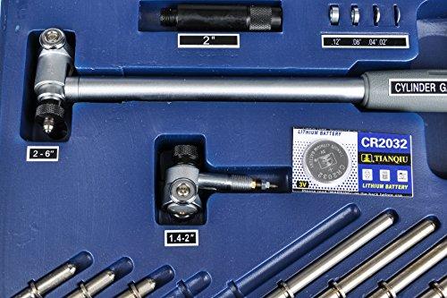 Fowler-Full-Warranty-Extender-Dial-Bore-Gage-Kit-52-646-500-0-14-6-Measuring-Range-00001-Graduation-Interval-0-1